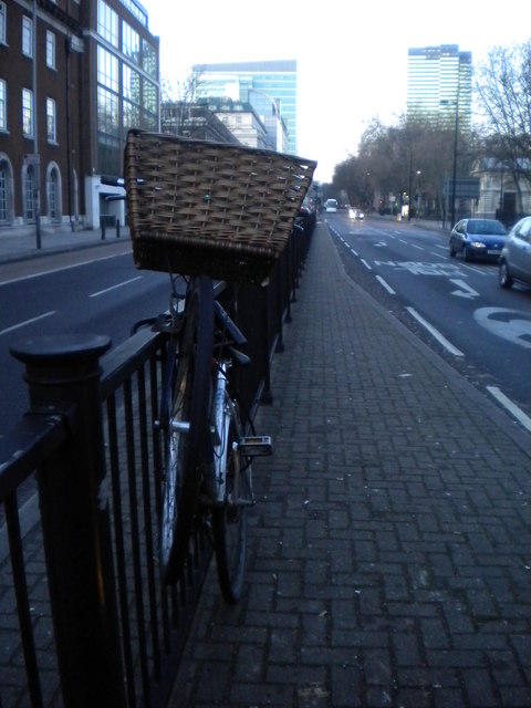 Bicycle, Euston Road N1