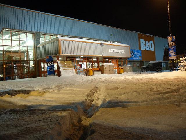 Buckholmside Retail Park