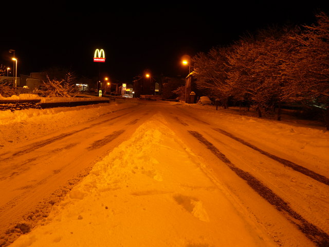 Nothing moves on the A72 main Galashiels to Peebles Road