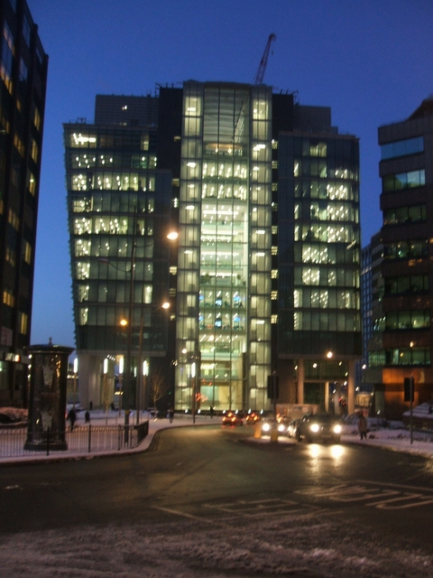 1 Snowhill from Colmore Circus