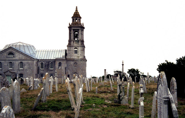 St. George's Church and  cemetery,  Isle of Portland