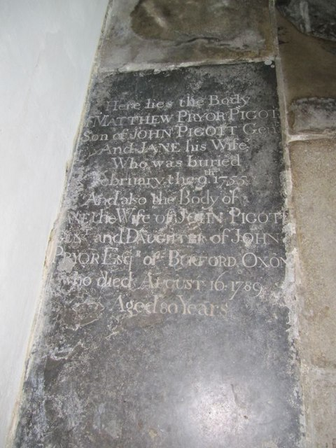 Tomb in the church