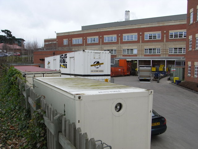 Worcestershire Royal Hospital service yard