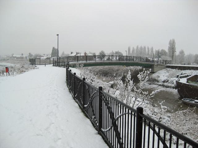 The Footbridge over Barton Haven