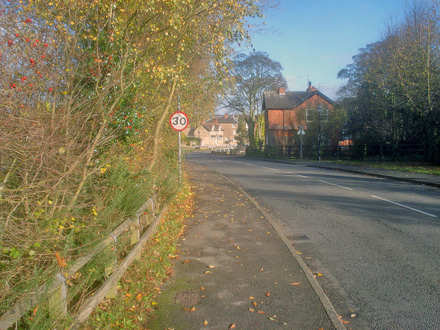 Entering Linby
