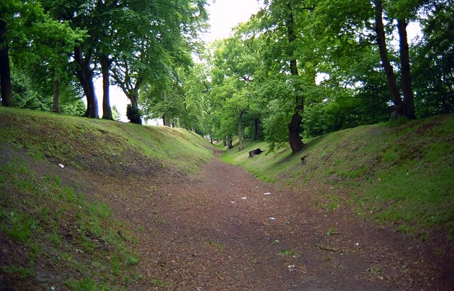 Ditch of the Antonine Wall at Watling Lodge
