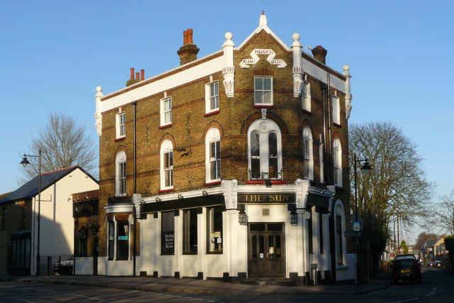 The Sun Hotel, Carshalton, Surrey