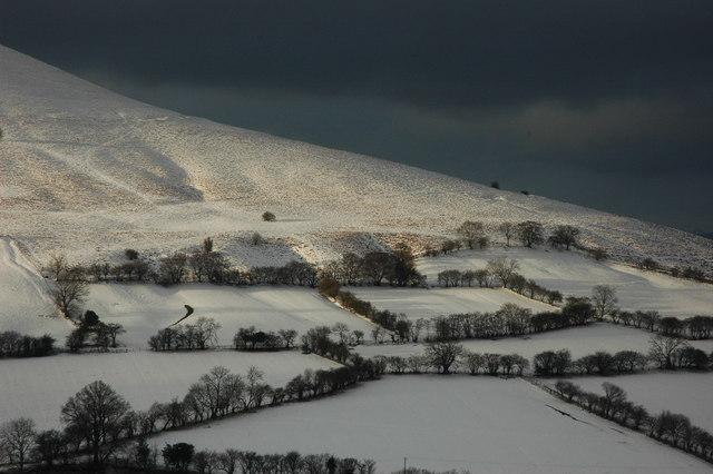 The Slopes of Mynydd Troed