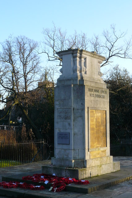 War Memorial, Carshalton, Surrey