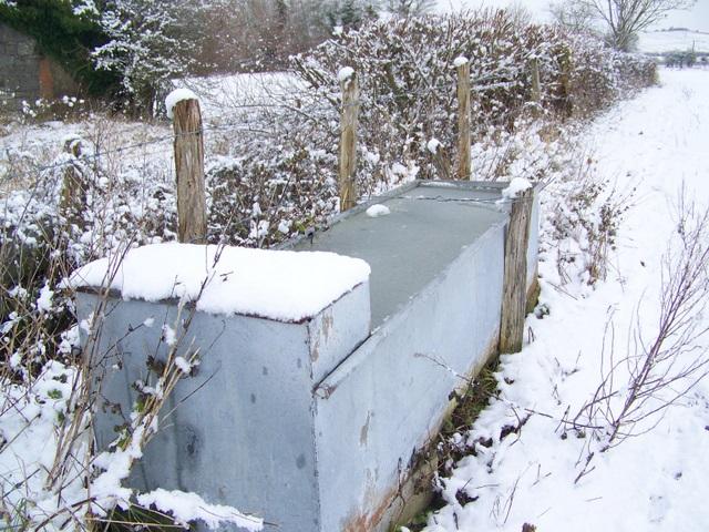 Water trough, Croucheston