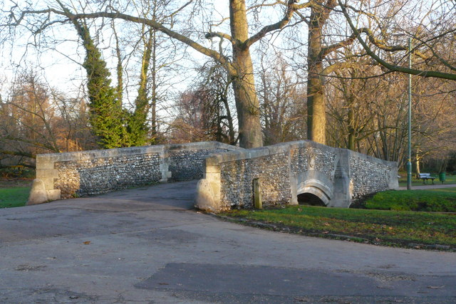 Bridge in Beddington Park, Surrey