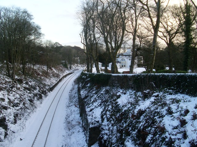 Railway line and Chappell Wester