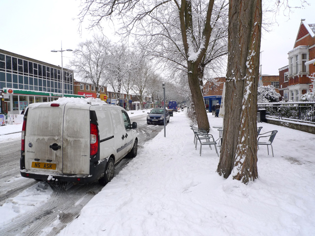 Queensway in the Snow