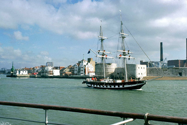 The leaving of Portsmouth