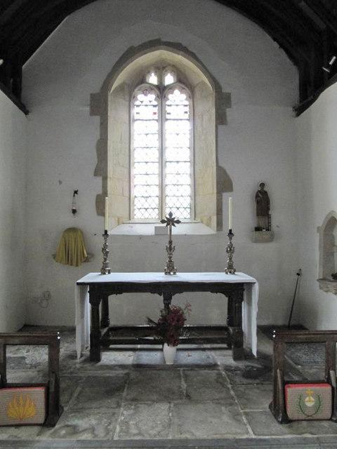 Altar in the Church