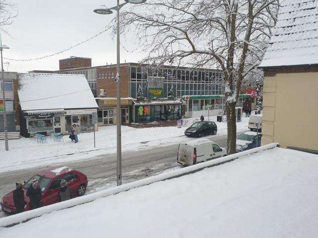 Snow in Queensway