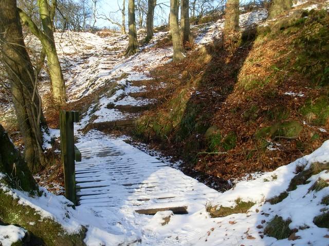 Killoch Glen footpath