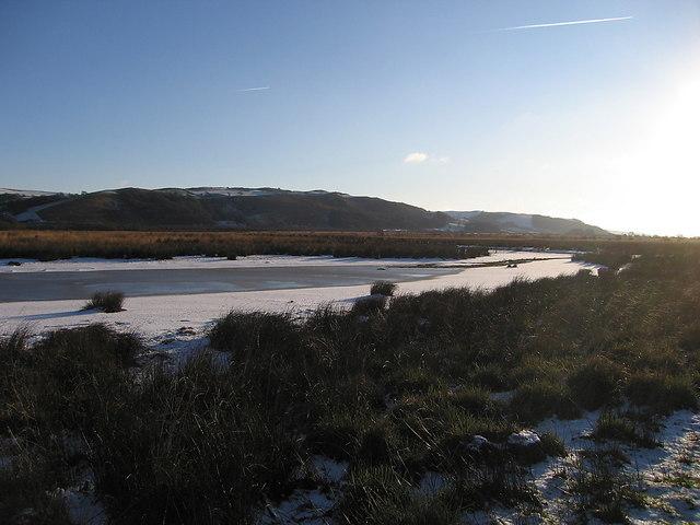 Bog pond, Cors Caron Nature Reserve