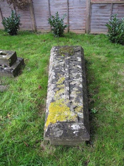 Tomb near the church