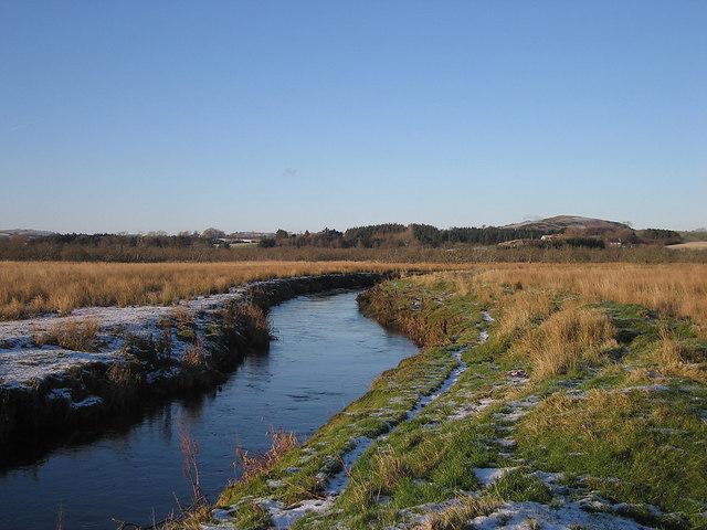 Afon Teifi upstream from the Riverside Walk, Cors Caron Nature Reserve