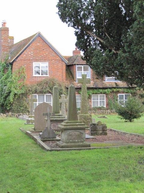Graves near the church