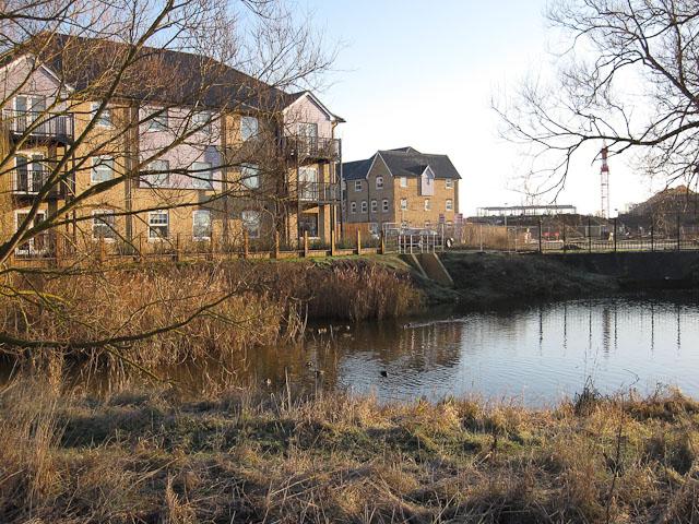 Mill pond on Soham Lode