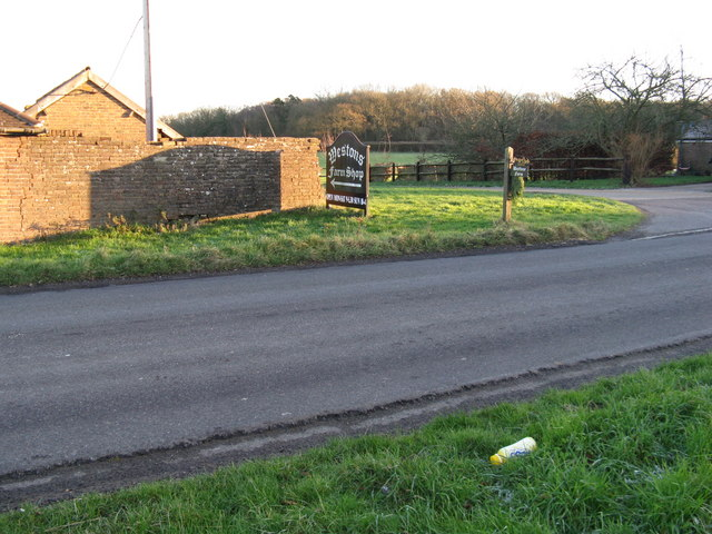 Entrance to Westons Farmshop
