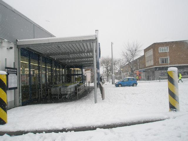 Lidl trolley park