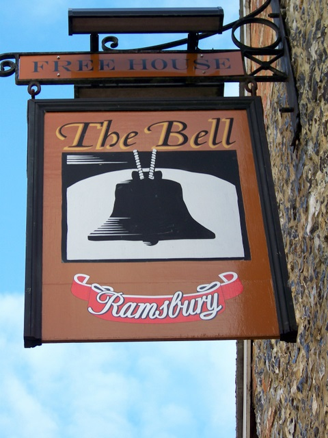 Sign for the Bell Inn