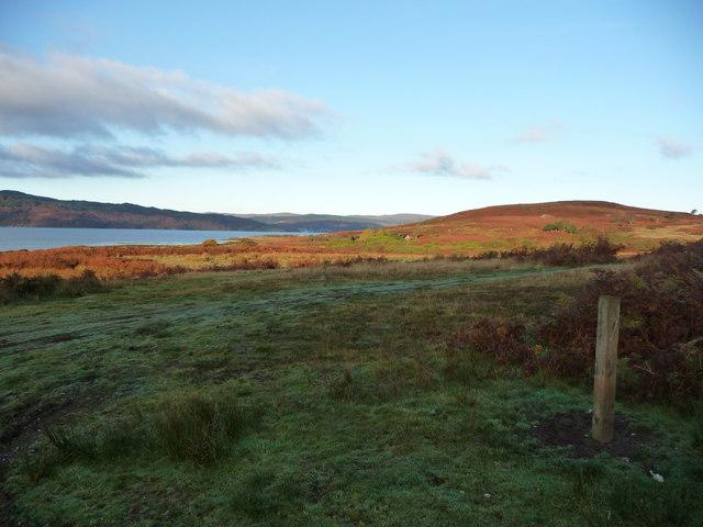 View towards Low Stillaig