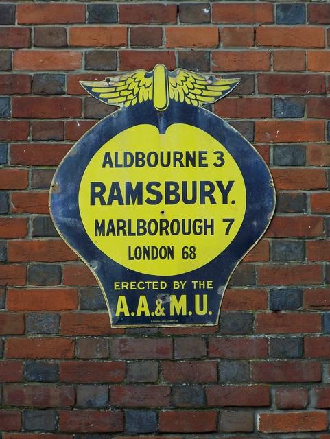 AA Sign, Ramsbury