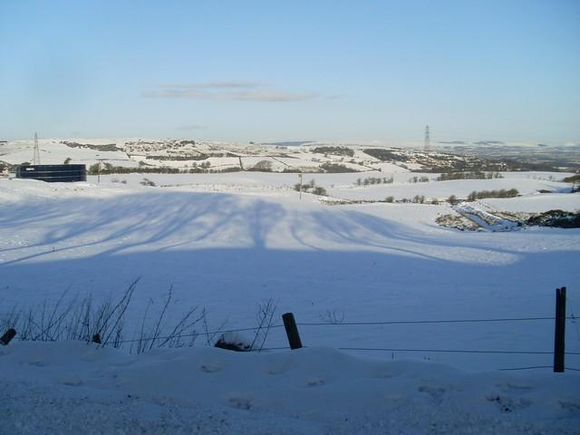 Farmland east of Dyke