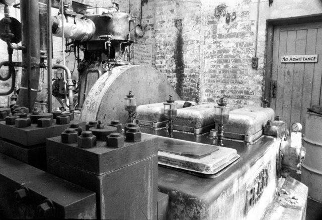 Steam powered hydraulic pump