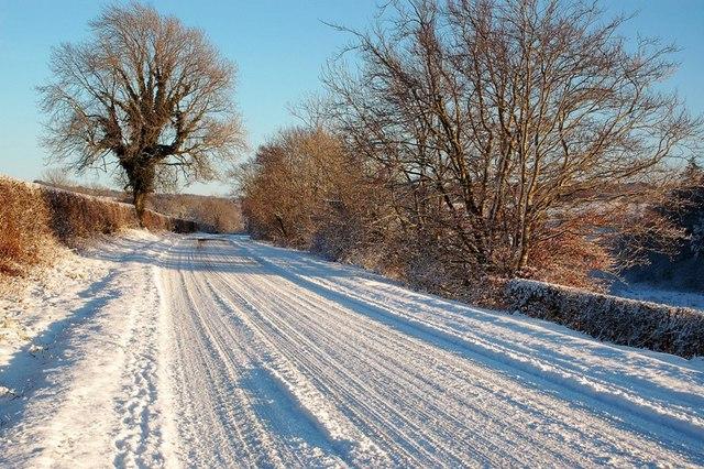 A Snowy B741 Near Rowanston Farm