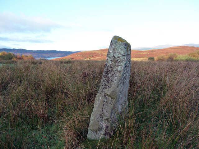 Standing Stone near Low Stillaig