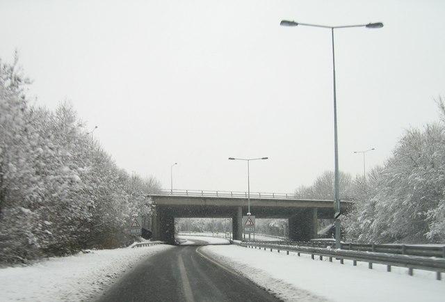 Leaving Basingstoke