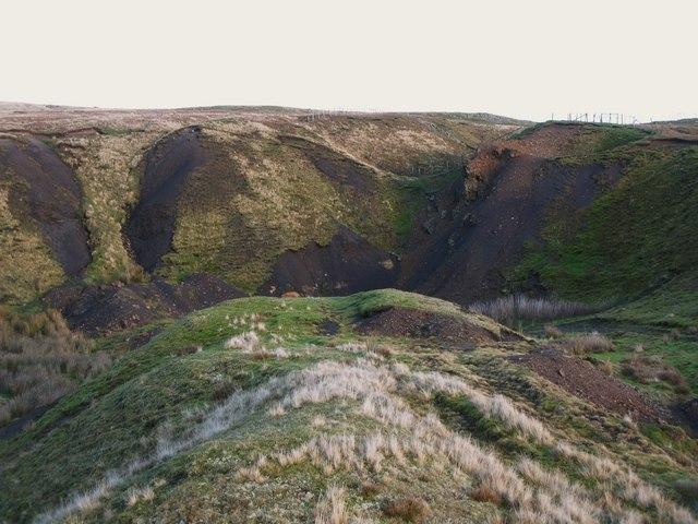 Old mine workings near Grove Rake (9)