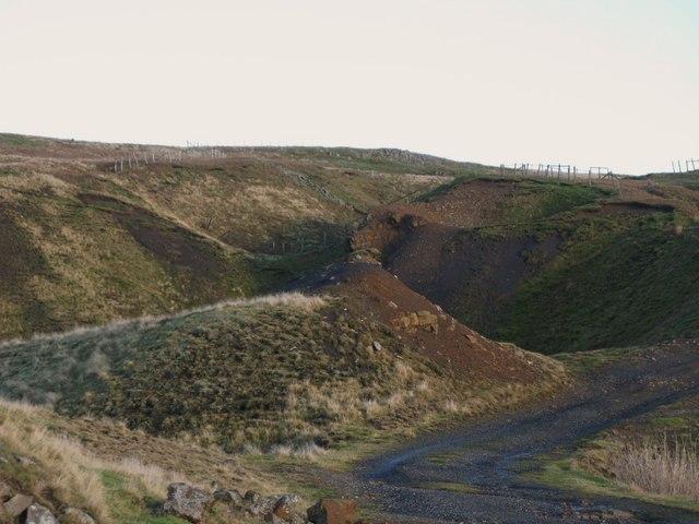 Old mine workings near Grove Rake (11)