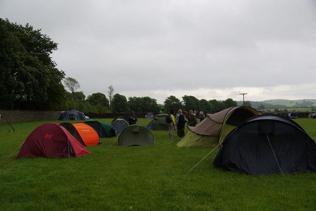 Camping at Dalesbridge