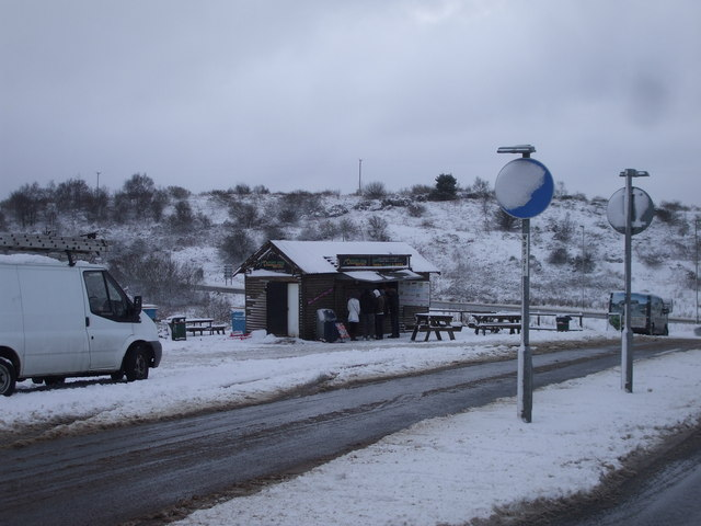 The Mountain View Snack Lodge, Caerphilly Common