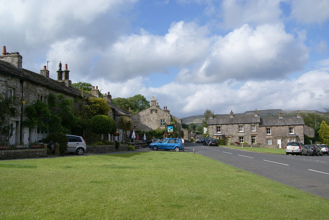 The village green at Austwick
