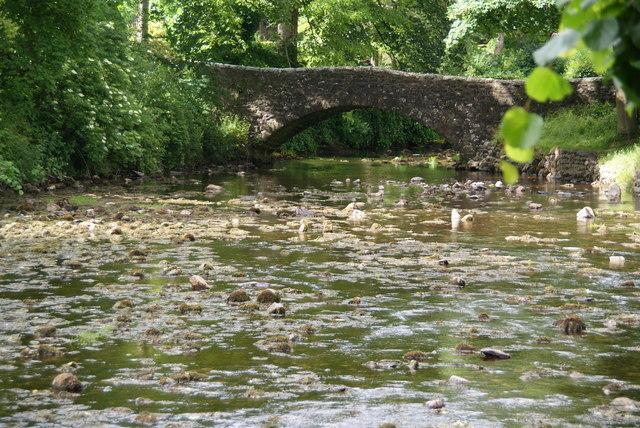 One of the bridges in Clapham