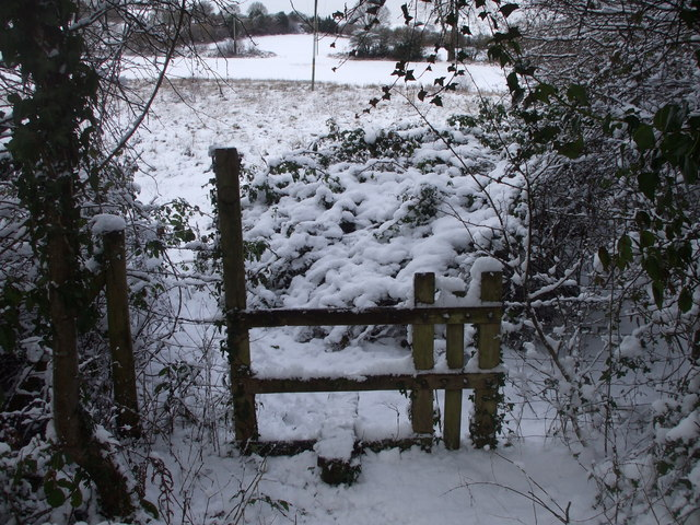 Stile from Van Rd, Caerphilly