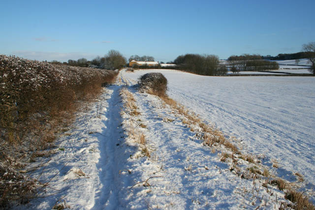 Bridleway near Eaton