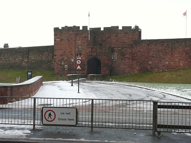 Main gateway, Carlisle Castle