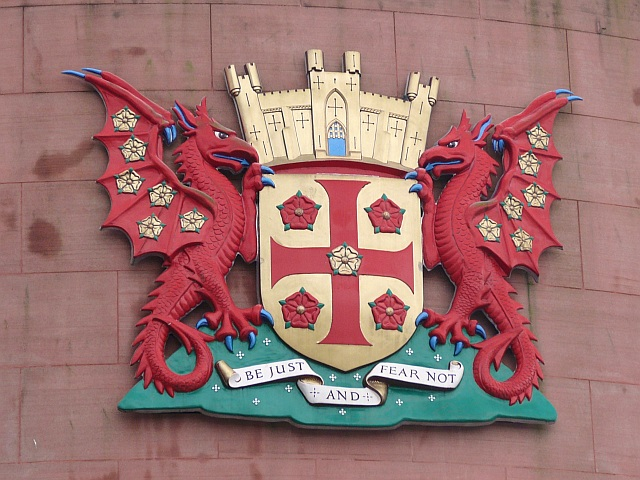 Carlisle city coat of arms