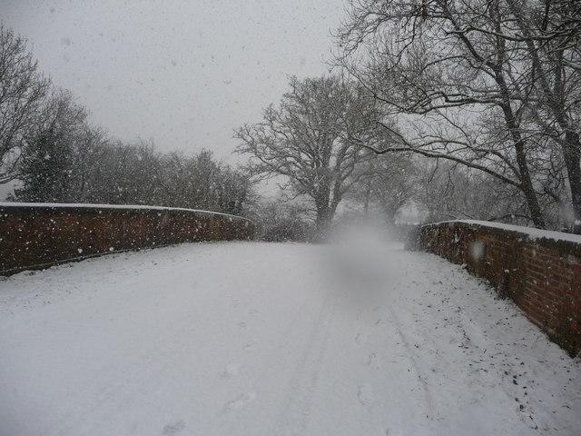 Mid Devon : Country Road & Bridge
