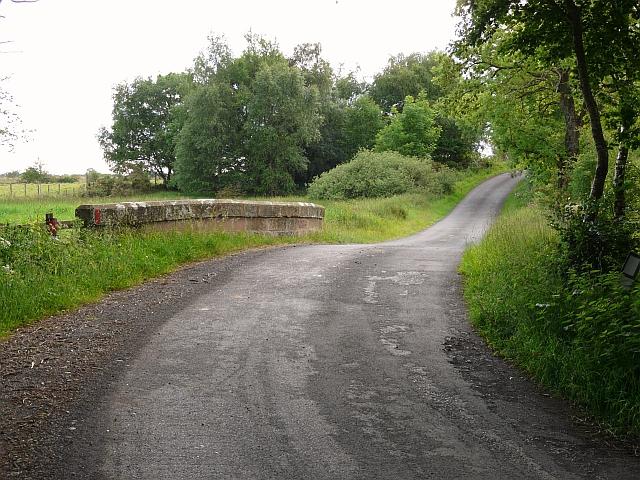 Road over Flosh Bridge