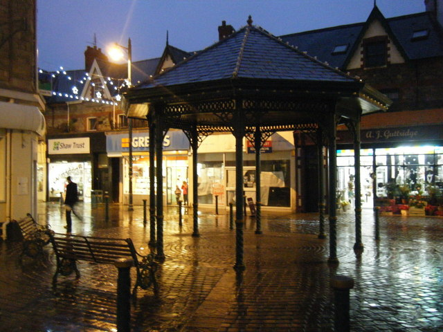 Bandstand/Shelter, James Street/John Street junction.