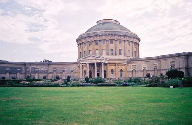 Ickworth House rotunda and northern aspect